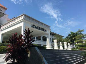 ルメリディアンシンガポールセントーサの外観